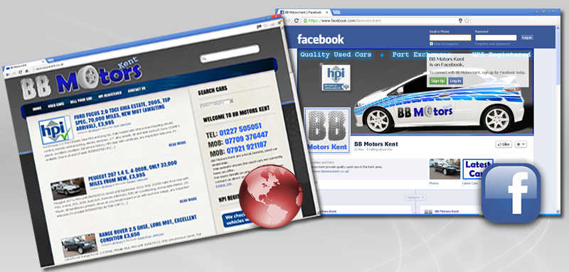 Examples of BB Motors Kent websites